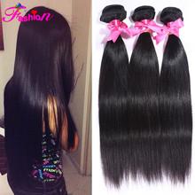"brazilian virgin hair straight cheap brazilian straight hair 3pcs lot 8-30"" natural black unprocessed human hair free shipping"