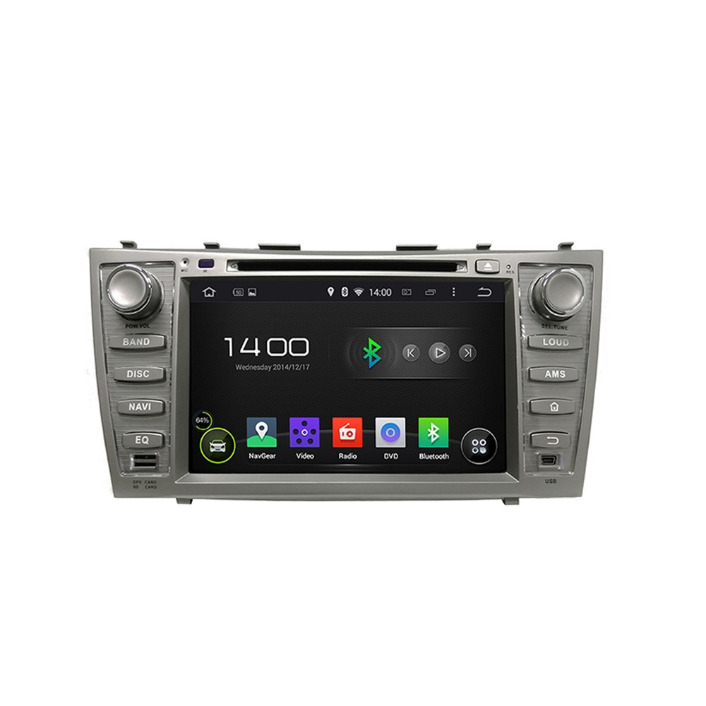 HD 1024*600 Quad Core 1.6G CPU 16GB Android 5.1.1 Car DVD Player Radio GPS Navi Stereo for Toyota CAMRY 2007 2008 2009 2010 2011(China (Mainland))