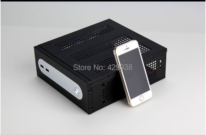computer case US version itx mini industrial small Chassis htpc Chassis Black or White(China (Mainland))