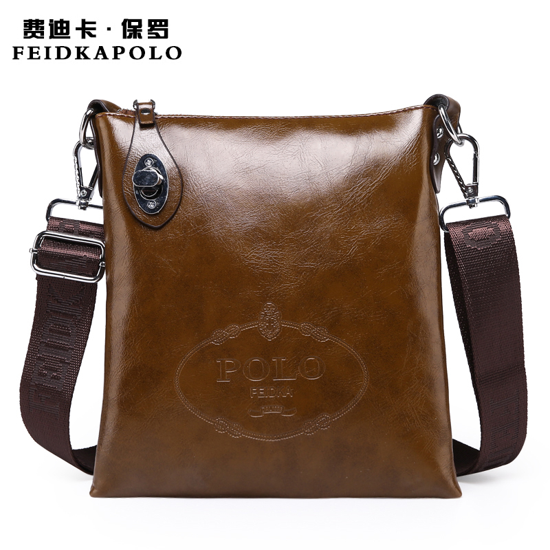 2015 Latest arrival Brand Specials Messenger Bag men Casual carry bag Design PU leather handbag POLO shoulder bag Crossbody Bags(China (Mainland))