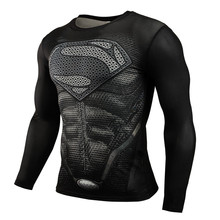 Buy 2015 New Fitness MMA Compression Shirt Men Anime Bodybuilding Long Sleeve 3D T Shirt Crossfit Tops Shirts for $7.43 in AliExpress store