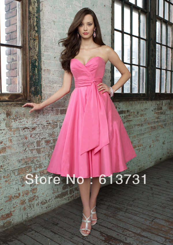 Bridesmaid Dress Hot Pink