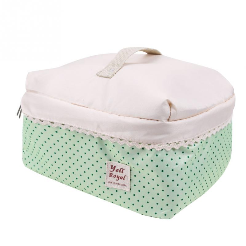 Cute And Beautiful Fashion Makeup Bag Storage Bag Debris Material Polyester Foam Sandwich Travel Case Two Colors For Choose(China (Mainland))