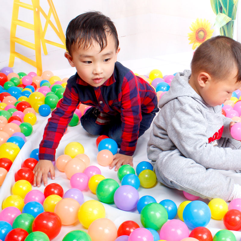 10PCS Plastic Baby Balls Pit Balls Swim Pool Balls Toy Play Tents Balls Water Pool Toys Baby Pool Toys Baby Funny Toy PX40(China (Mainland))