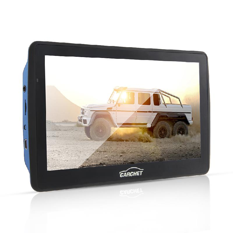 CARCHET Portable 7 inch Touch Screen Car GPS Navigation FM HD 8GB Europe Map