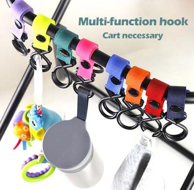 Baby trolley hook Baby Multipurpose stroller hook baby Stroller Accessories baby safe 4pcs /lot - 8pcs /lo(China (Mainland))
