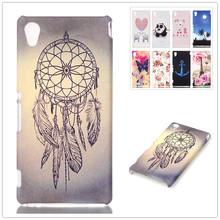 3D Relief Plastic Hard Case Sony Xperia M4 Aqua Dual E2303 E2333 E2353 Fashion Cartoon Back Cover - Civilization Co.,Ltd store