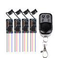 4PCS Wireless Remote Control Switch 433mhz 3 7v 4 5v 5v 6v 9v Micro Receiver Switch