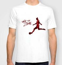 New DARE TO ZLATAN Ibrahimovic T-Shirts Swedish footballer Fashion Paris Men t- shirt DESIGN 100% COTTON CUSTOM Print TEES