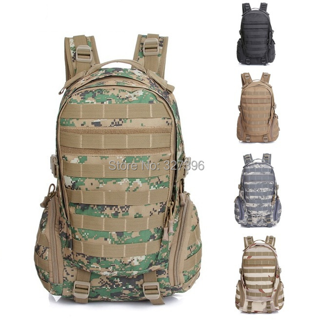 Molle Army Tactical Backpack Men Military Sports Camping Travel Bag Casual Outdoors Hiking Trekking Shoulders School Backpacks - Outdoor Adventure Club store