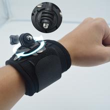 Gopro Hand strap Tripods 360 Degrees Rotate Gopro Wrist Strap Arm Mount Wrist Band for Gopro Hero 4 3+ 3 2 SJ4000 SJ5000