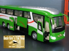 1:55 scale model bus with pull back function light sound diecast model metal car(China (Mainland))