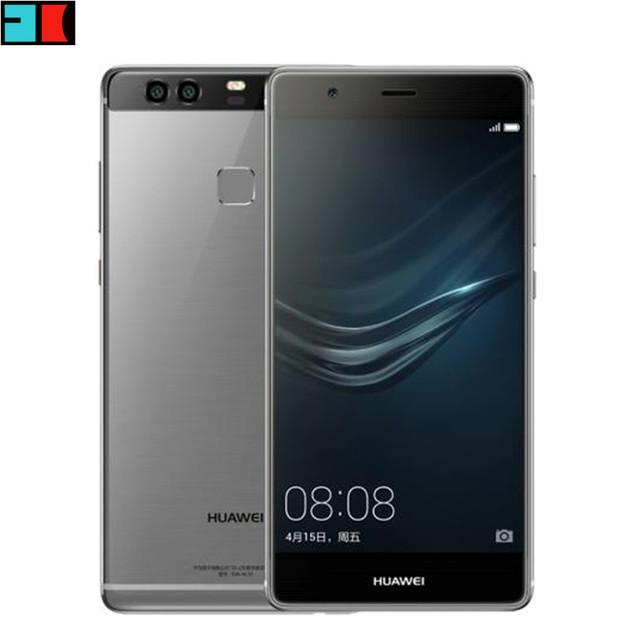 "Оригинал HUAWEI P9 4G LTE Сотового Телефона Кирин 955 Android 6.0 5.2 ""FHD 1080 P 4 ГБ ОПЕРАТИВНОЙ ПАМЯТИ Dual Задняя 12.0MP Камера"