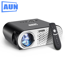 AUN Projector 3200 Lumen T90, 1280*768 (Optional Android Projector with 2.4G Air Mouse, Bluetooth WIFI, Support KODI AC3) LED TV(China (Mainland))