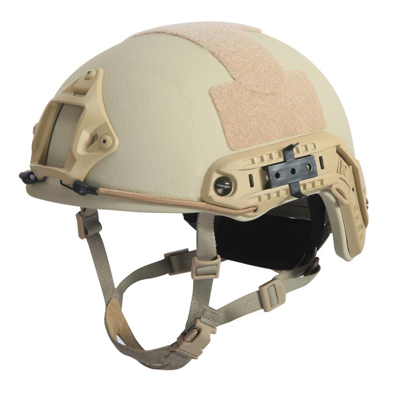 FAST Ballistic helmet FAST Bulletproof helmet US Standard NIJ IIIA Kevlar bullet proof helmet bulletproof motorcycle TAN helmet(China (Mainland))