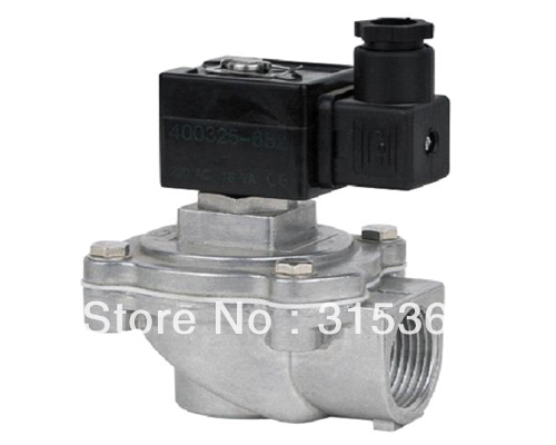 Free Shipping 1'' ASCO Pilot Operated Dust Collector Main Pulse Valve DMF-A-25 DC24V or AC220V(China (Mainland))