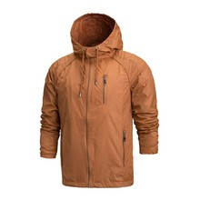 2016 Windbreaker Men Jacket Windproof Breathable Waterproof Jacket Raincoat Jackets Clothes Camping Rain Coats Hoodies A0325-5(China (Mainland))