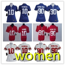 2016 Women Top A Best quality 100% Stitiched,New York Giants,Eli Manning,Odell Beckham Jr,Victor Cruz, Jason Pierre-Paul(China (Mainland))