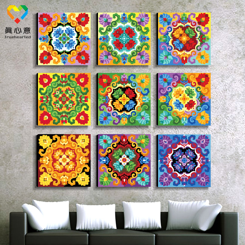 Market new products unique mandala painting frames for paintings(China (Mainland))