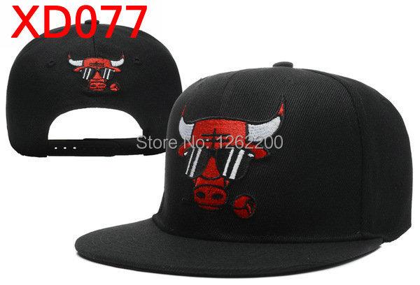Bull Snapback Men Women Crazy Bull Rose Snapback Hats