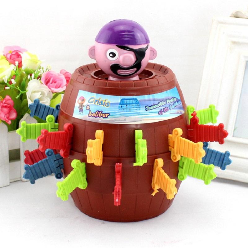 Pirate Barrel Game Novelty Kids Children Funny Lucky Game Gadget Jokes Tricky<br><br>Aliexpress