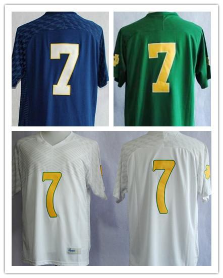 Hot Sale! #7 Stephon Tuitt Jersey Notre Dame Football ...