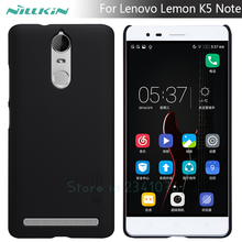 Buy Lenovo K5 Note case NILLKIN Super Frosted Shield matte hard back cover case Lenovo Lemon K5 Note screen protector for $7.19 in AliExpress store