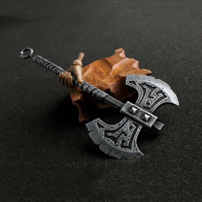 HOT FIGURE TOY 1/6 alloy ancient cold steel LOL berserker purgatory AXE Free Shipping(China (Mainland))