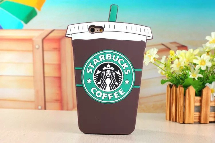 3D Starbuck Silicone Case Cover For Samsung Galaxy S Trend Grand Duos Plus S3 S4 S5 S6 S7 Edge G530 For iPhone 5S 6S Gel Cases
