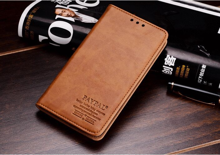 High qulity Paypal Brand genuine leather flip cover case for Meizu MX5 cell phone case for Meizu MX5 phone bag free shipping(China (Mainland))