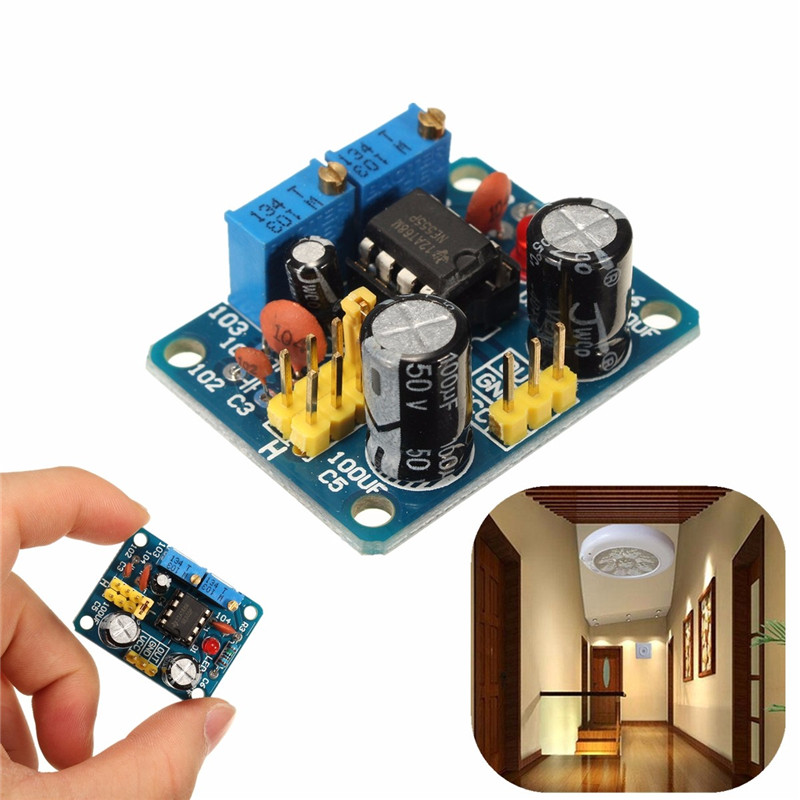 High quality 1pcs NE555 Pulse Frequency Duty Cycle Adjustable Module Square Wave Signal Generator DIY Kit 3.6CM x 2.9CM<br><br>Aliexpress
