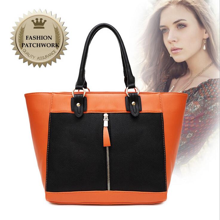 Fashion Patchwork Brand 2015 Designer Handbags High Quality PU Leather Women Messenger Bags Woman Bag Women Handbag Louis.bag<br><br>Aliexpress