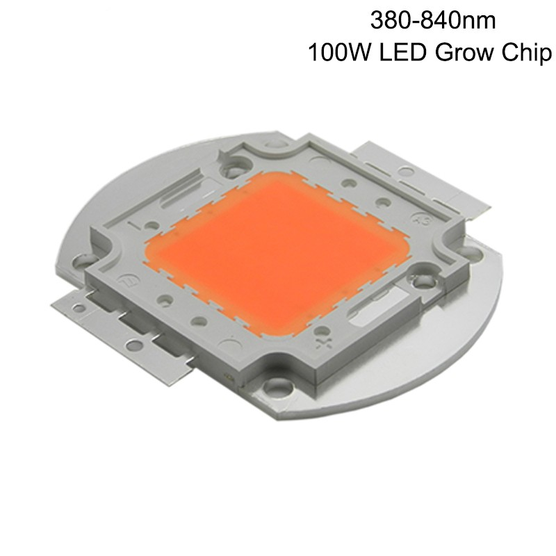 2016 grow light chip full spectrum 380-840nm 100W led 60*2w DIY - Happy shopping Department Store store