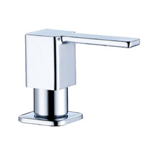 Square Stainless Steel Soap Dispenser Fit for Kitchen Sink 3630002(China (Mainland))