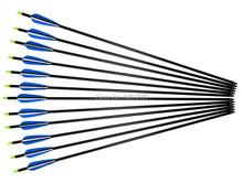30″Aluminum arrow 30pcs archery outdoor sport  the bullet  target point shooting aluminum alloy arrow for compound bow and arrow