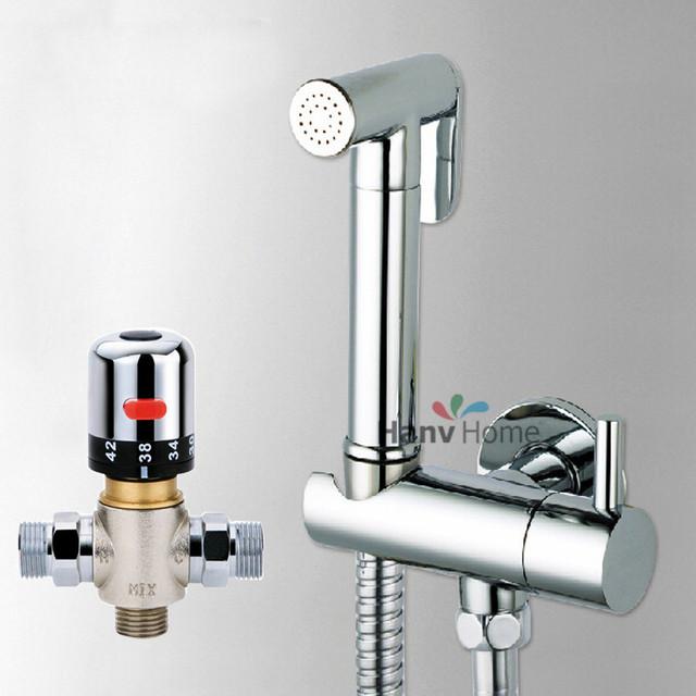 Bathroom Thermostatic Mixer Valve Bidet Spray Water Mixing: Aliexpress.com : Buy Thermostatic Mixing Valve &Brass