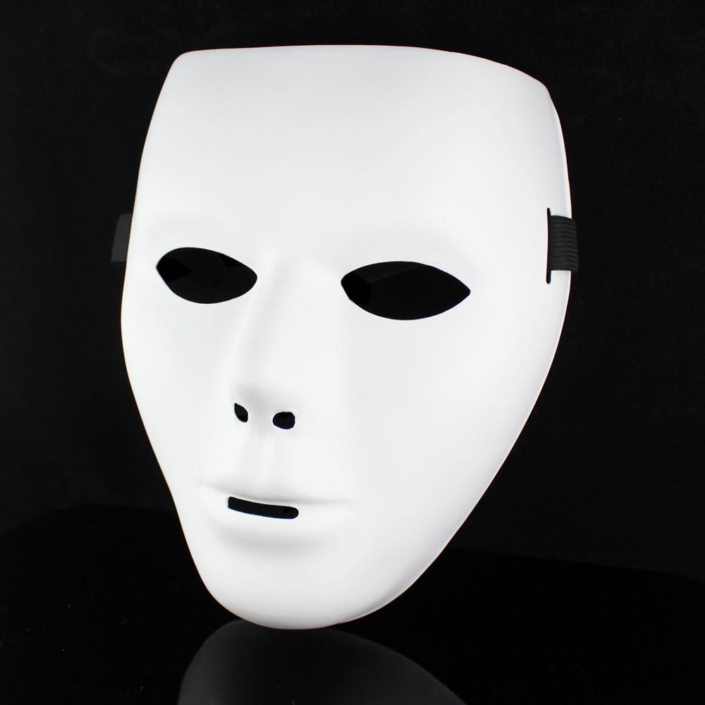 3pcs/lot Jabbawockeez for abb awockeez mask white hip-hop mask Halloween perform act props(China (Mainland))