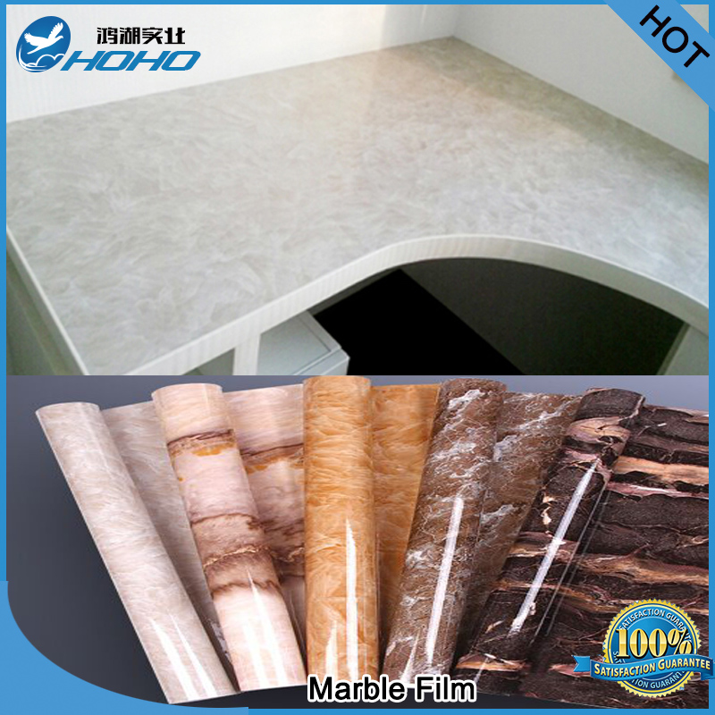 Wrap film water proof furniture film home marble sticker popular griotte film 122*500cm(China (Mainland))