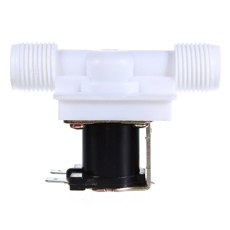 """1/2"""" DC 12V Electric Solenoid Valve N/C Water Air Inlet Flow Switch Normally Closed 1/2 Inch Valves(China (Mainland))"""