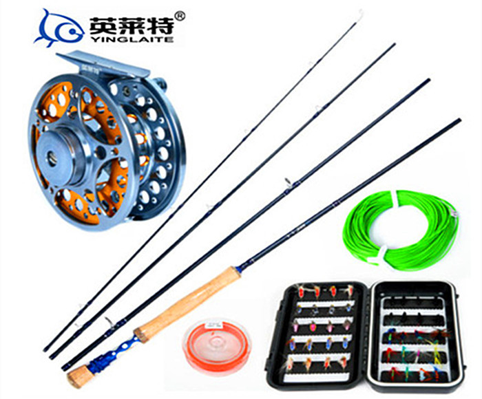 Free Shipping high carbon fly rod 2 7m 7 8 fly fishing rod fly fishing reel