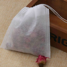100 pcs 5.5 x 7cm Empty Teabags String Heat Seal Filter Paper Herb Loose Tea Box Bag(China (Mainland))