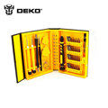 DEKO 38 in 1 Multi Repair Tool Box Magnetic Opening Tools Kit Screwdriver Hand tool set