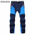 Lovers Winter outdoo Mountaineering pants Waterproof softshell pants Men women s Camping Hiking Pants