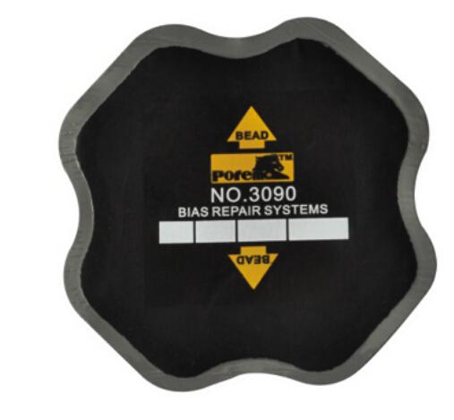 20pcs 90*90mm high quality Bias tyre Repair cold Patch/ car tire repair patch/American style Tyre Repair Patch(China (Mainland))