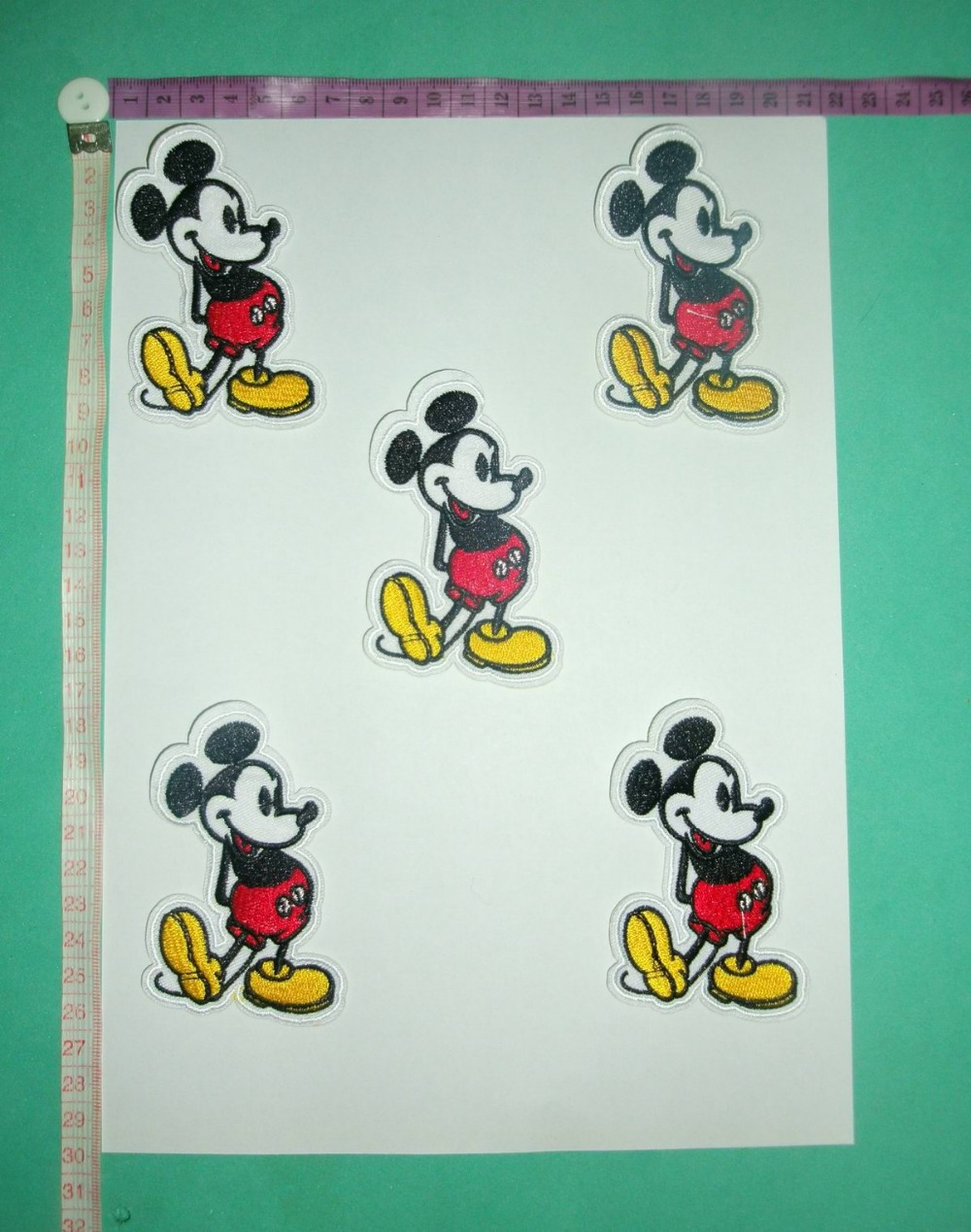 USA Mouse Clothes Patch,CLOTH STICKER,Patch , The lovely Cartoon, fabric cloth paste ,free shipping(China (Mainland))