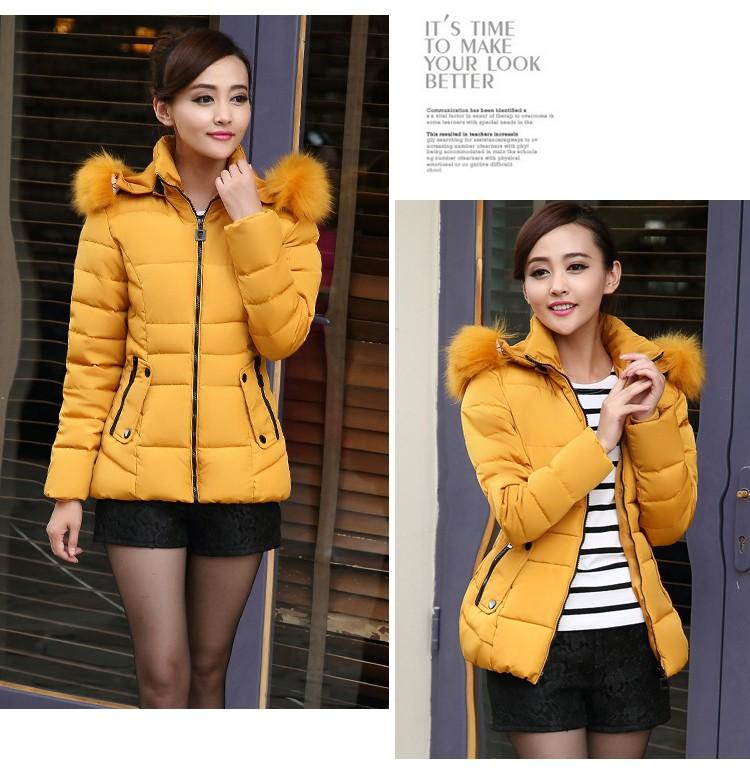 2016 Latest Winter Fashion Women Down jacket  Elegant Hooded Thickening Super warm Coat Long sleeves Loose Plus-size Coat SJ1155