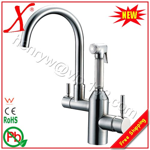 wholesale amp retail luxury pull out spray kitchen faucet