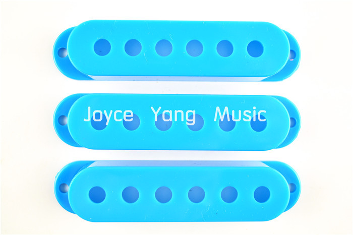 New Sky Blue Single Coil Pick up Covers For Fender Strat Style Electric Guitar Free Shipping Wholesales(China (Mainland))