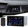 Double 2 Din 7 HD In dash Car Stereo DVD CD Player Touch Screen Bluetooth Car