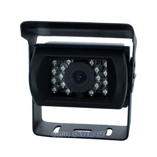 HOMSECUR 12V CCD SHARP Chip CCD Water Proof Back Up Camera For Car/Truck/Van/ + 10m Cable(China (Mainland))